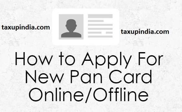 How To Apply Pan Card Offline How To