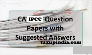 Ipcc Income Tax Pdf