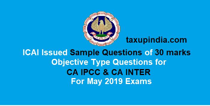 mock test paper ipcc nov 2019